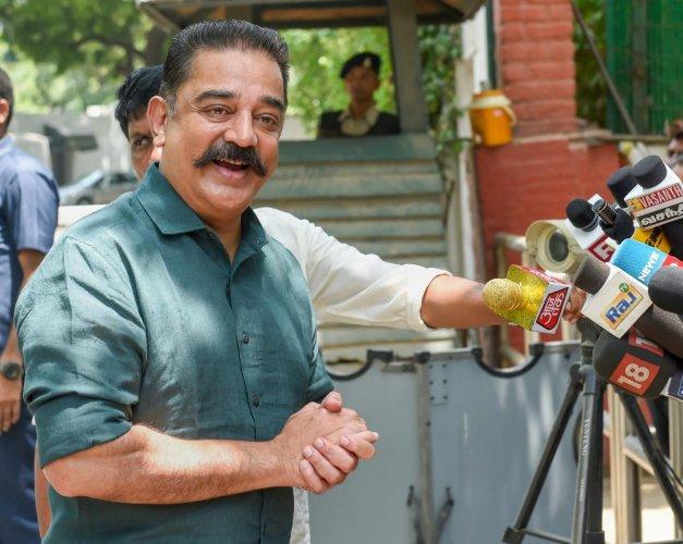 Makkal Needhi Maiam President Kamal Haasan, PTI file photo