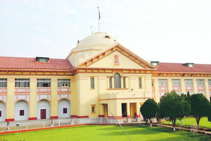 A view of the Patna High Court.