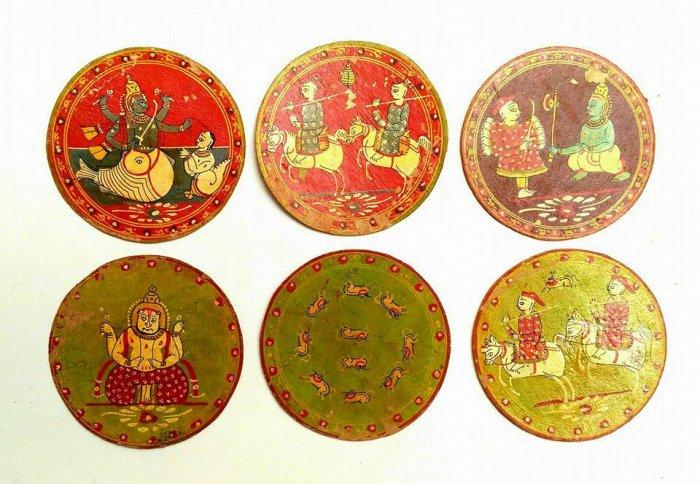 Ganjifa cards