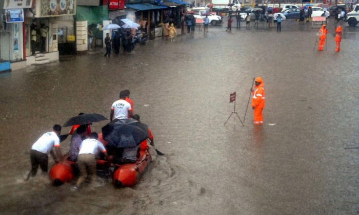 On Tuesday, the MMR got some respite from heavy rain, that it has been experiencing since Friday night. PTI file photo