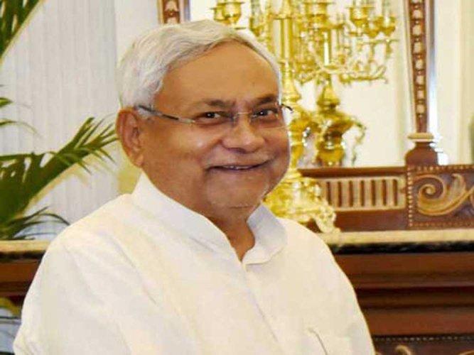 Bihar Chief Minister Nitish Kumar, file photo