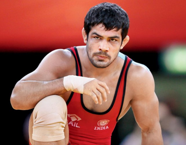 Ace Indian wrestler Sushil Kumar has been included in the TOPS again. DH File Photo