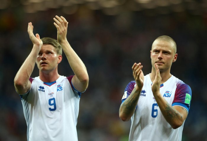 DOGGED PERFORMERS Although World Cup debutants Iceland were able to bag only one point, they showed they can compete with the best. REUTERS