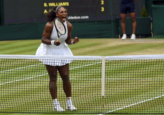 USA's Serena Williams has been seeded 25th in the upcoming Wimbledon Championships. Reuters File Photo