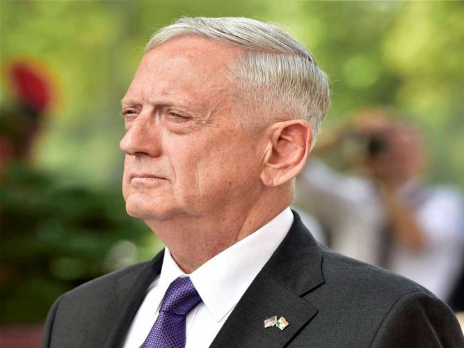James Mattis. PTI file photo.