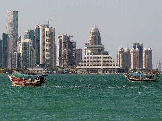 The Saudi-led bloc broke off all ties with Qatar last year. (Reuters file photo)