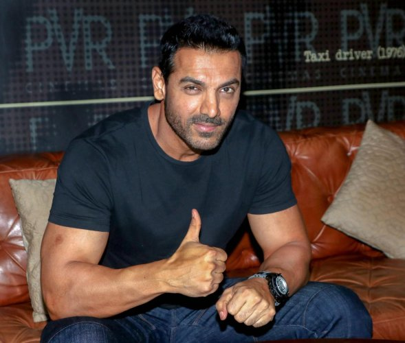Bollywood actor John Abraham. PTI file photo