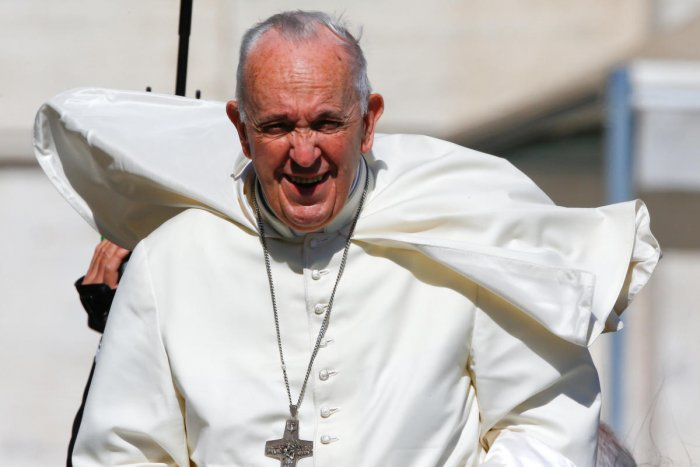 Pope Francis. REUTERS photo.