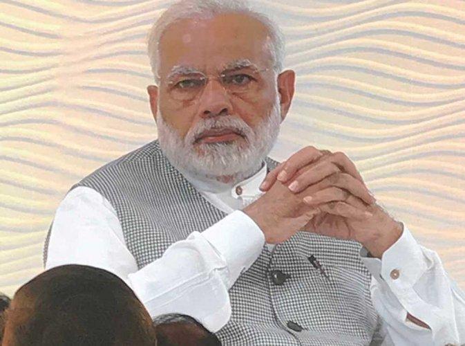Prime Minister Narendra Modi, Image courtesy Twitter