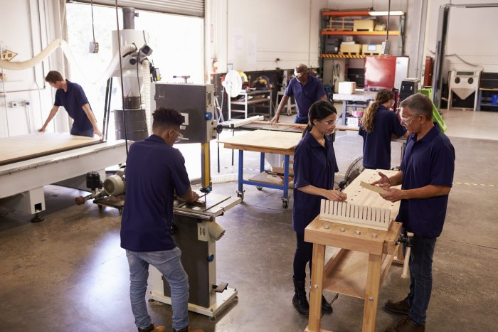 A structured apprenticeship programme can help learners develop skills in line with the demands of the workplace.