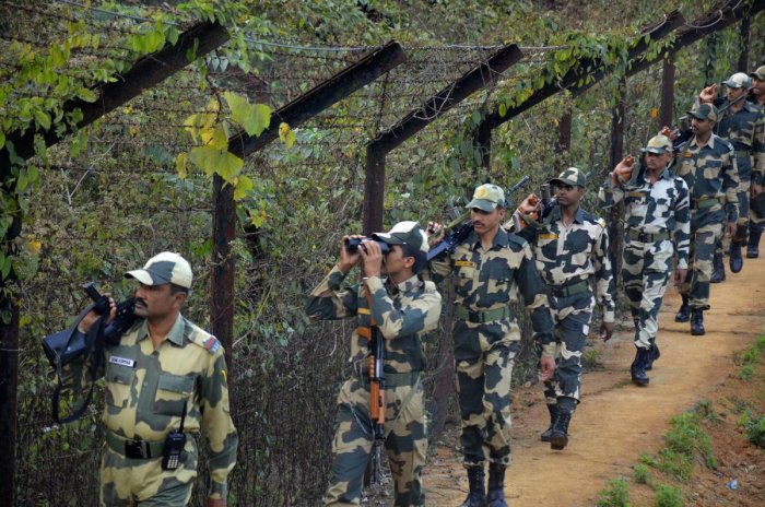 BSF personnel, PTI file photo