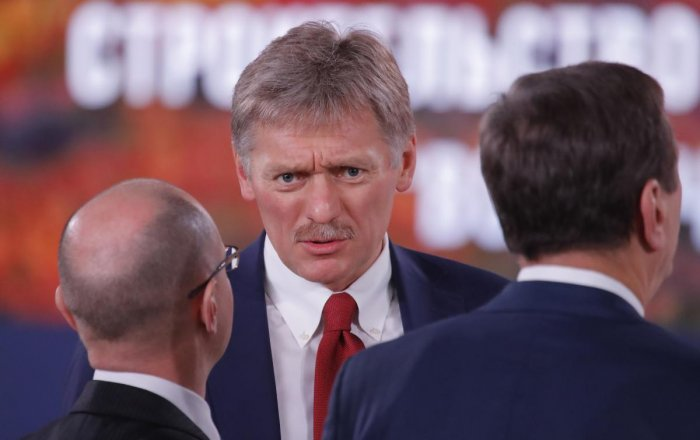 If Trump raises the issue of Russia's alleged meddling in the U.S. elections in 2016, Putin will reiterate his position that Moscow has nothing to do with that, Peskov told a conference call with reporters. (Reuters Photo)