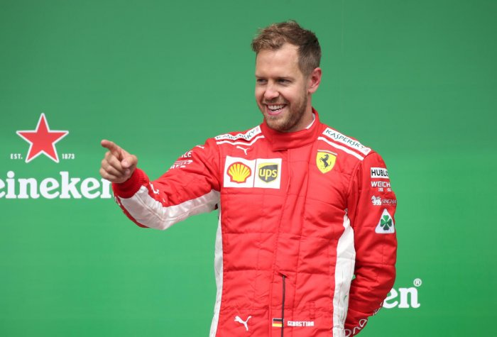 Ferrari's Sebastian Vettel is not bothered about claims that he has been making too many mistakes. Reuters
