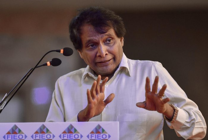 Minister of Commerce & Industry and Civil Aviation Suresh Prabhu, PTI file photo