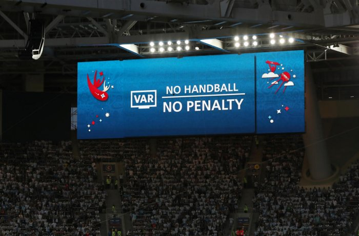 TECHNOLOGY HELPS FIFA claimed on Saturday that VAR, used for the first time this World Cup, has achieved a success rate of 99.3 percent. REUTERS