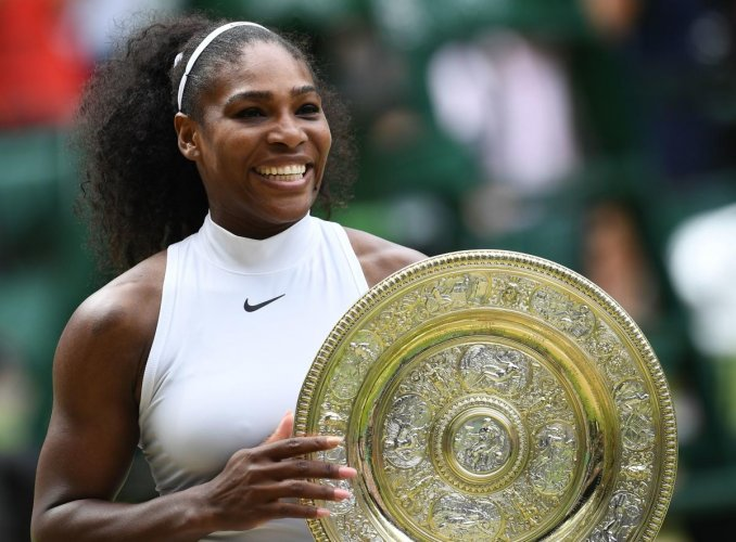 FIGHTER: Serena Williams last won her wimbledon title in 2016, when she defeated Germany's Angelique Kerber in the final. AFP File Photo