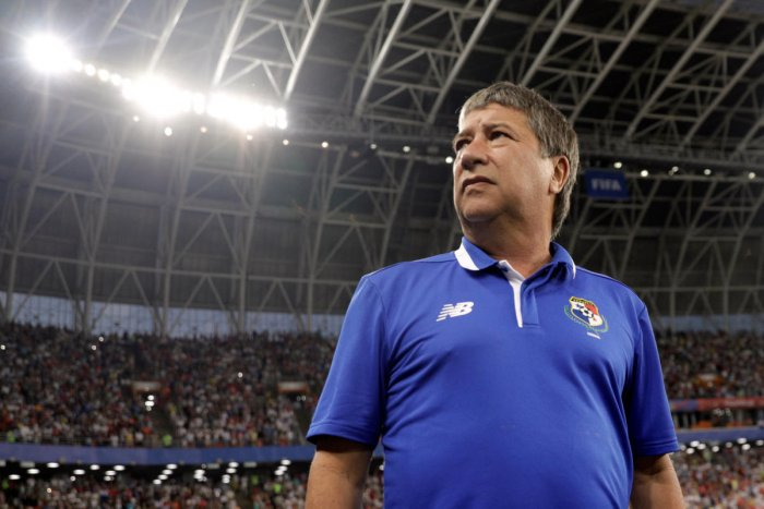 Panama coach Hernan Dario Gomez. Reuters