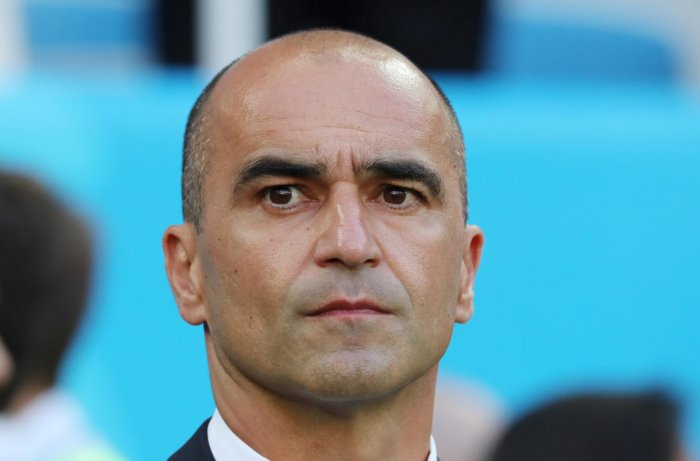 OPTIMISTIC: Belgium's coach Roberto Martinez says his side is not worried about the tough knockout phase. Reuters
