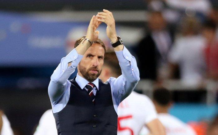 England coach Gareth Southgate. Reuters