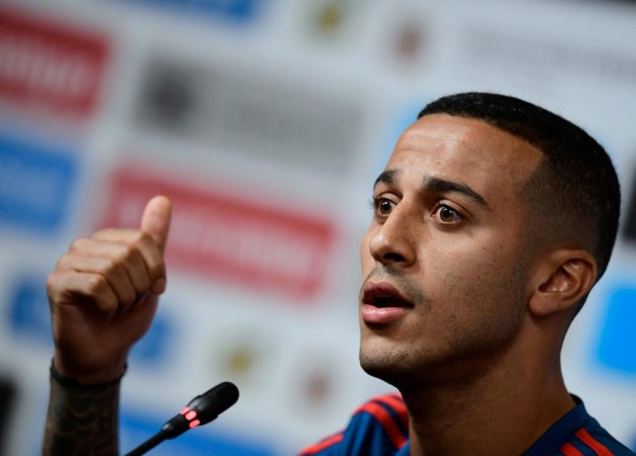 Thiago Alcantara. AFP