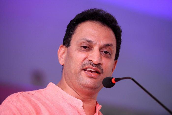 Union minister Anant Kumar Hegde. (DH file pic/ Satish Badiger)