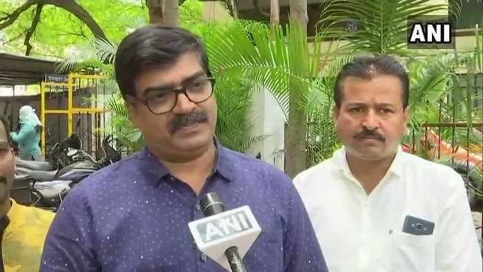 A case against Kishor Shinde, a former corporator from Kothrud area, and other workers of Maharashtra Navnirman Sena (MNS) was registered after the multiplex management filed a complaint following the Thursday's incident. Picture courtesy ANI