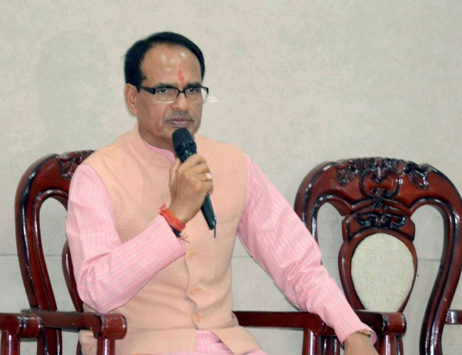 Chouhan also condemned the incident in Mandsaur, where an eight-year-old girl was allegedly raped by a man. PTI file photo.