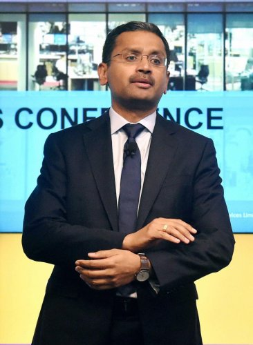 TCS CEO and MD Rajesh Gopinathan. PTI