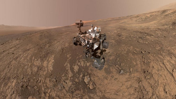 Scientists therefore assume that there must have been once enough water on the red planet to feed water streams that incised their path into the soil. (Reuters file photo. For representation photo)