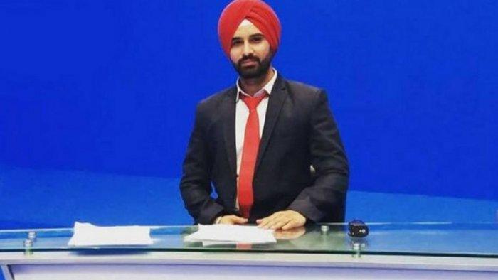 Harmeet Singh. (pic Twitter)