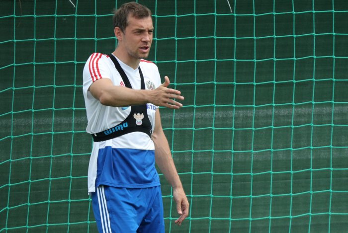 Forward Artem Dzyuba feels Russia need to perform a miracle to defeat Spain. REUTERS