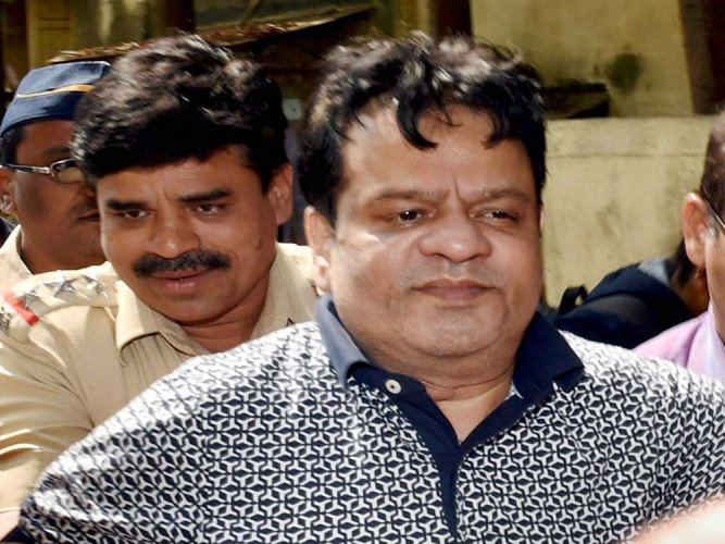 File photo of underworld don Dawood Ibrahim's brother Iqbal Kaskar who was arrested on Monday night by the crime branch of the Thane Police in connection with an investigation into an extortion case. PTI Photo