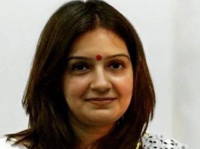 Priyanka Chaturvedi, file photo