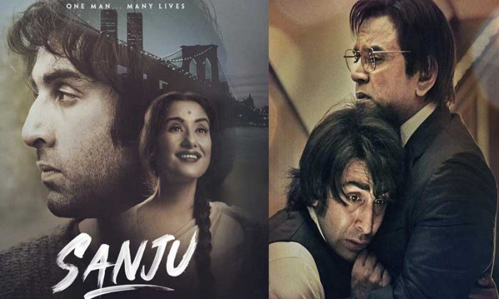 With Sanju, Hirani orchestrates Sanjay Dutt's return to grace from his many, many off-screen falls with this onscreen homage. Image Courtesy: Twitter