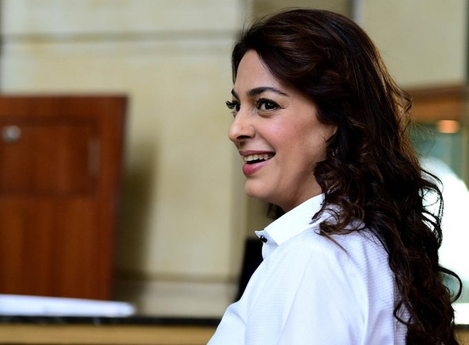 Bollywood actor Juhi Chawla. DH File photo