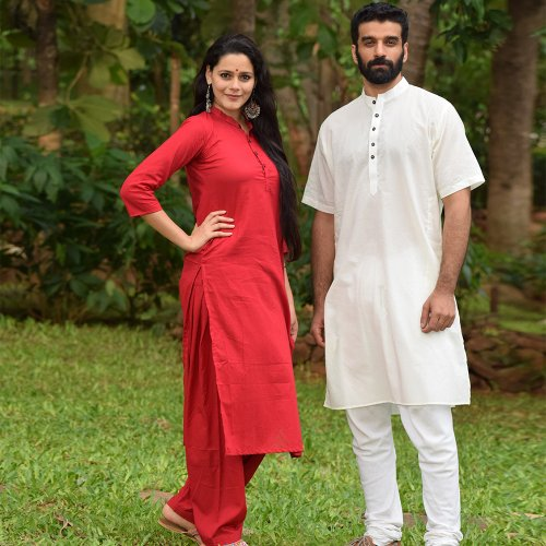 Models wearing outfits from BYOGI