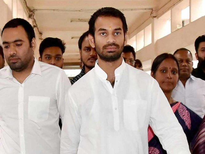 "RJD leader Tej Pratap Yadav has said he intended to put up a ""no entry"" board at his mother's house for Bihar Chief Minister Nitish Kumar, in line with his party's stand that the door is closed for the return of JD(U) president to the Grand Alliance."