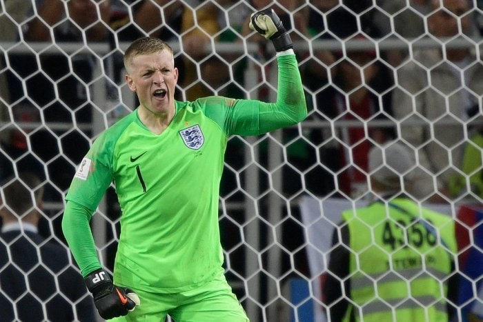 On just his seventh international appearance, Pickford became the first England stopper in 20 years to save a penalty at a major tournament.