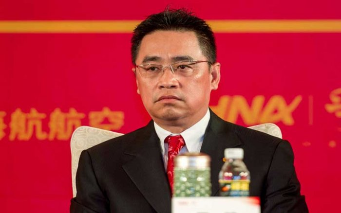 The 57-year-old businessman, the co-founder of HNA and its second-highest ranking executive, fell into a 10-metre void, sustaining serious injuries that emergency services were unable to treat at the site. (Reuters file photo)