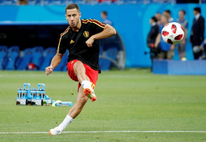 Gifted Eden Hazard, who at times has gone anonymous in important games, will be determined up his ante against Brazil on Friday. REUTERS