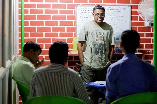 Speak in Banashankari offers a one-month course to learn the langauge.