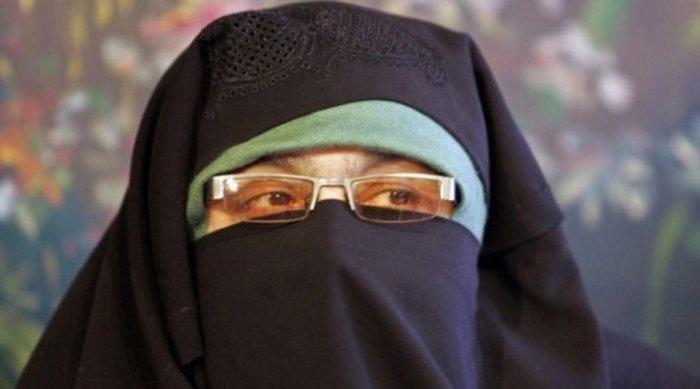 Aasiya Andrabi, the chief of banned Dukhtaraan-e-Milat.