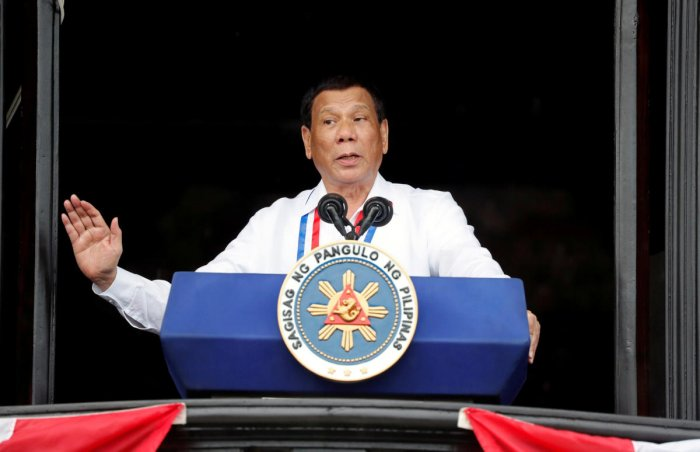 Philippine's President Rodrigo Duterte. Reuters Photo