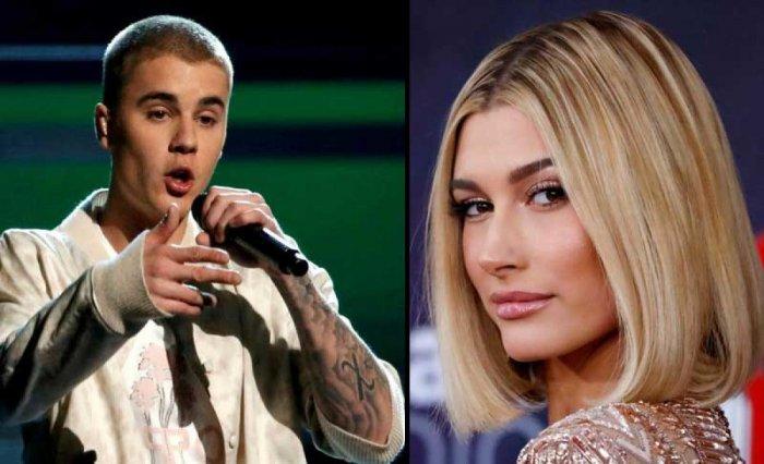 Justin Bieber, Hailey Baldwin (Reuters file photos)
