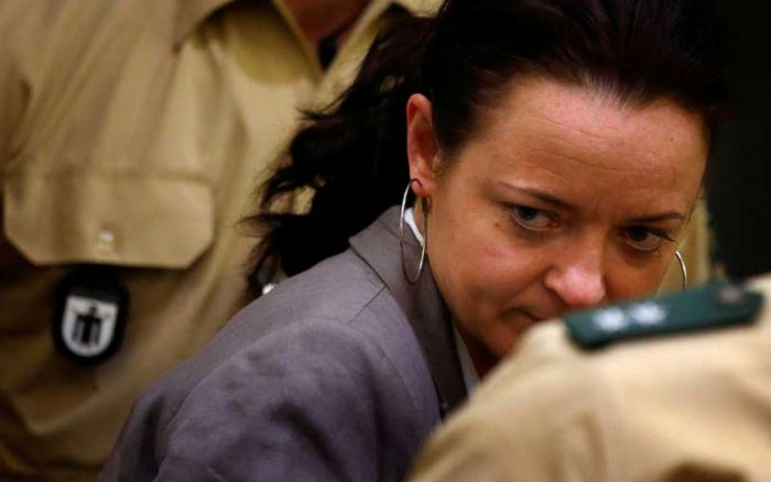Beate Zschaepe, 43, was found guilty of 10 counts of murder for her complicity in the deadly shootings of nine Turkish and Greek-born immigrants and a German policewoman. (Reuters File Photo)