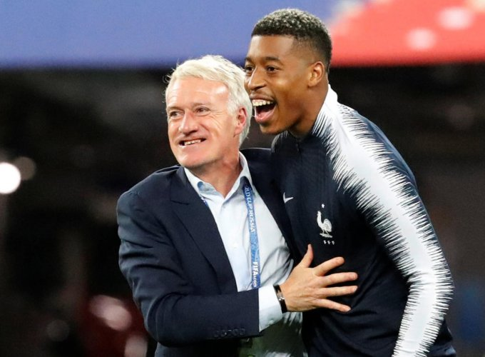 """""""Finals have to be won because we have still not got over the one we lost two years ago,"""" said Deschamps."""