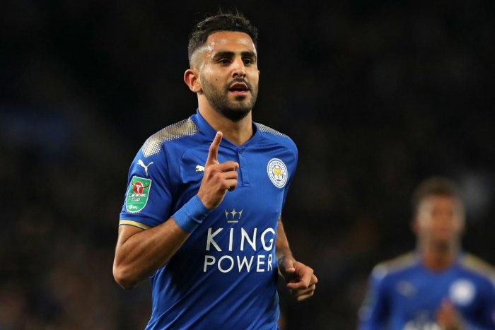 Algerian midfielder Riyad Mahrez, who played a key role in Leicester City's Premier League title triumph in 2016, has moved to Manchester City. (AFP Photo)