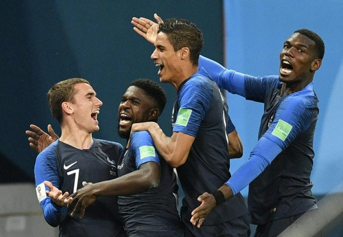 France's players danced on the field after the final whistle and their fans sang in the stands long past the end of the match.