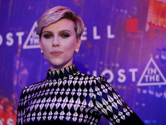 """The parody video comes in response to the controversial casting of Johansson as a trans man in the upcoming film """"Rub & Tug"""", which will be directed by Rupert Sanders. Reuters File Photo"""