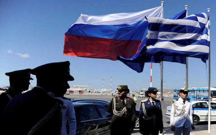 """A Greek government source said Athens """"maintains channels of communication"""" with Moscow and that Greece """"has no problems"""". (Reuters Photo)"""